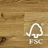 Duo-Plank European Oak (FSC mixed credit) Classical (Unfinished plank)