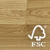 Duo-Plank European Oak (FSC mixed credit) Premier/1-bis (Unfinished plank)