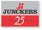 Junckers 25 Year Warranty logo
