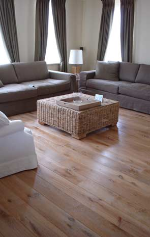 Oak White Wash Wood Flooring